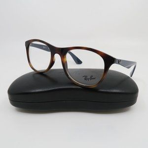 Ray-Ban RB 7085 5585 Tortoise/ Blue Temples Unisex